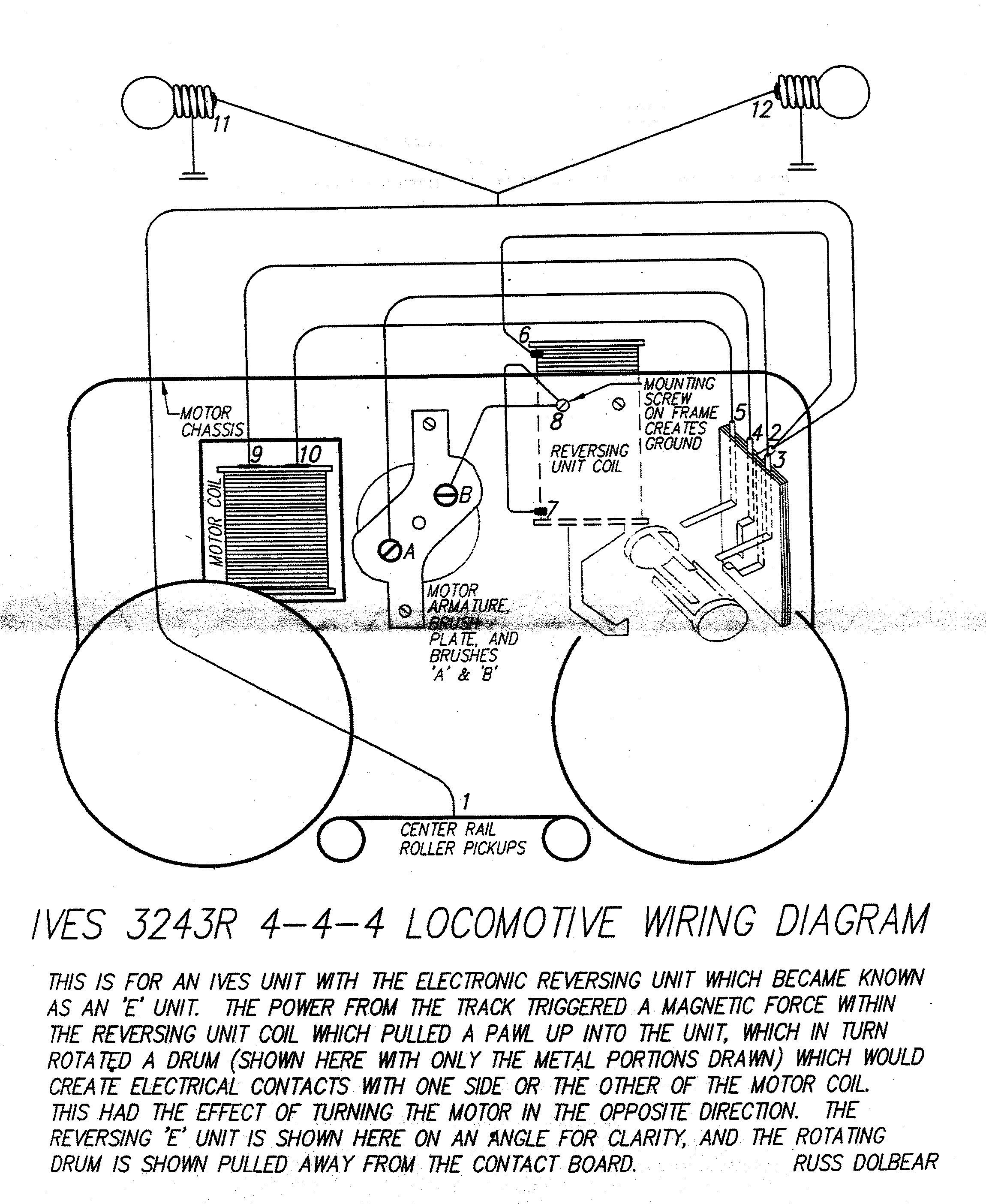 1960 lionel train motor wiring diagram lionel train engine wiring diagrams